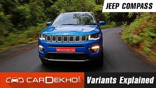 Jeep Compass Variants Explained