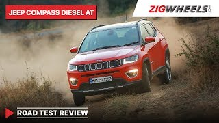 Jeep Compass Diesel-Automatic Road-Test | Does it make your life easier? | Zigwheels.com