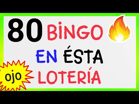 SORTEOS de HOY..!! (( 80 )) BINGO HOY..!! NÚMEROS que más SALEN éste DÍA/ RESULTADO de las LOTERÍAS