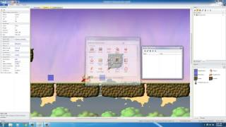 Platform Game Development w/ Construct 2 - 17 - Making Platforms You Can Jump Through
