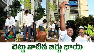 Jagapathi Babu Accepts Naga Shaurya's Challenge | Green India Challenge | IndiaGlitz Telugu - IGTELUGU