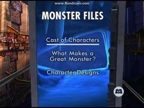 Monsters Inc Dvd Menu Disc 2