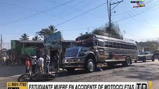 Santa Rosa: Estudiante muere en accidente en motocicleta