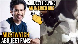 Bigg Boss Abhijeet Helping To Injured Dog | Abhijeet Helping Nature | TFPC - TFPC