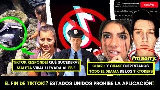 PROHÍBEN TIKTOK PARA SIEMPRE! CHARLI D'AMELIO EN NUEVO DRAMA! MALETA MISTERIOSA EN VIDEO VIRAL!