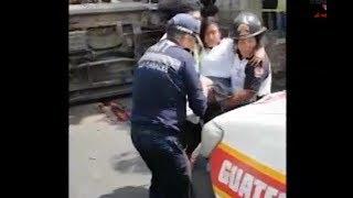 Volcamiento deja un muerto y varios heridos