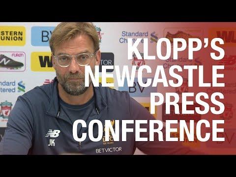 LIVE: Jürgen Klopp's Newcastle United press conference from Melwood