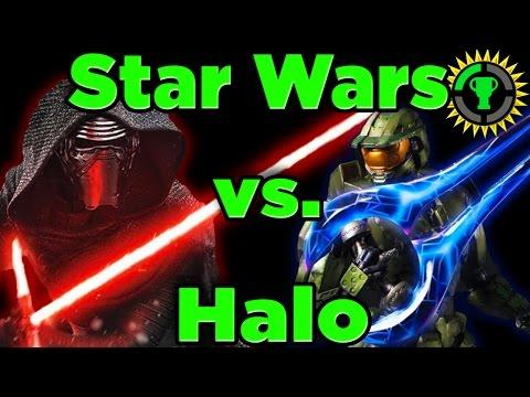 Game Theory: Star Wars Lightsaber Vs Halo Energy Sword