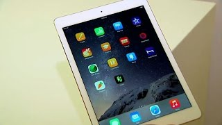 iPad Air 2 hands-on