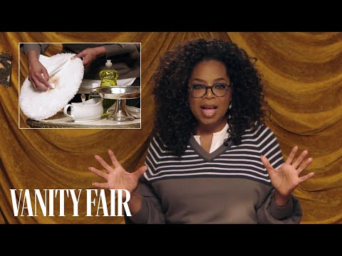 connectYoutube - Oprah's Trick for Cleaning Up Dog Poop | Secret Talent Theatre | Vanity Fair