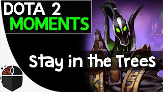 Dota 2 Moments - Stay in the Trees