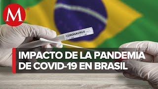 Brasil supera las 351 mil muertes por covid 19 y suma ma?s de 13 4 millones de casos