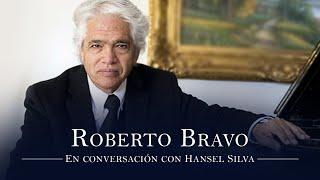 Roberto Bravo en conversación con Hansel Silva