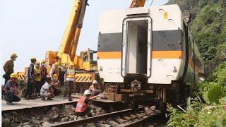 Après l'accident ferroviaire meurtrier à Taïwan, l'enquête se poursuit