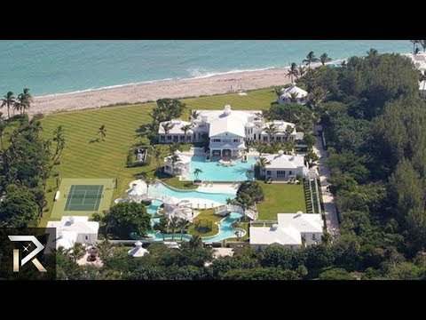 10 Incredible Celeb Mansions That Will Leave You In Awe