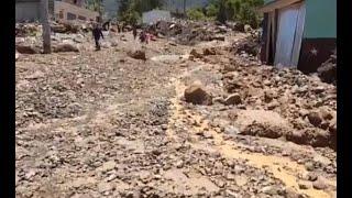 Quiché también resultó afectado por las fuertes lluvias