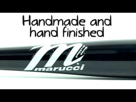 Marucci Pro Cut Maple Wood Bat: MCMBBCULL Black Adult
