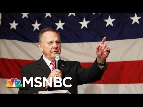connectYoutube - Roy Moore And Doug Jones Senate Race Coming Down To The Wire | Velshi & Ruhle | MSNBC