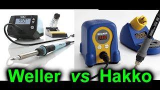 EEVblog #1063 - Weller WE1010 vs Hakko FX888D Soldering Station