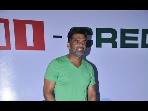 Suniel Shetty At A Property Expo