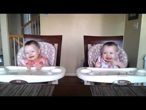 11 Month Old Twins Dancing to Daddy's Guitar mark