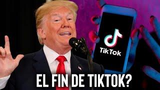 ÚLTIMA HORA: BLOQUEO DE TIKTOK ES ANUNCIADO POR PRESIDENTE TRUMP