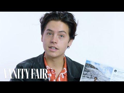 connectYoutube - Cole Sprouse Explains His Instagram Photos   Vanity Fair