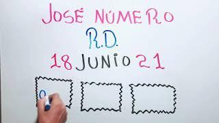 NÚMEROS DE LA SUERTE PARA HOY 18 DE JUNIO DE 2021