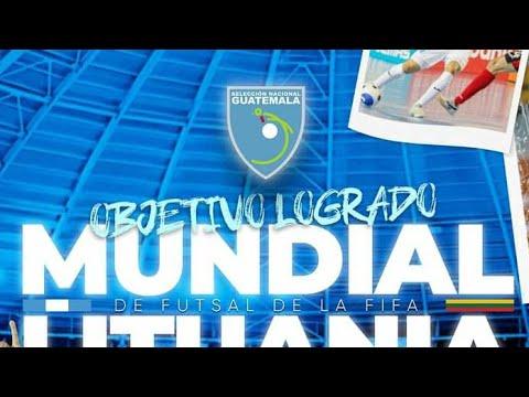 GUATEMALA CLASIFICA AL MUNDIAL!! GUATEMALA 3-3 EL SALVADOR FUTSALA