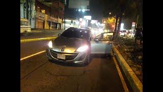 Conductores se enfrentaron a balazos por no ceder la vía