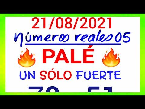 NÚMEROS PARA HOY 21/08/21 DE AGOSTO PARA TODAS LAS LOTERÍAS....!! Números reales 05 para hoy....!!