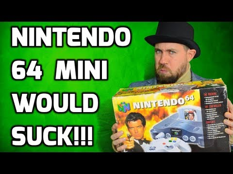 connectYoutube - Why the Nintendo 64 Classic Edition Mini Would Suck!! - Retro Gaming Rant