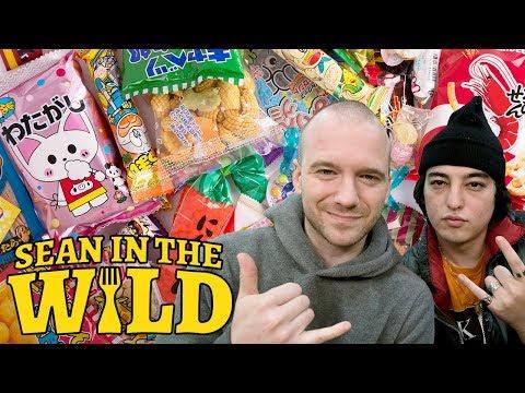 Joji and Sean Evans Review Japanese Snacks   Sean in the Wild