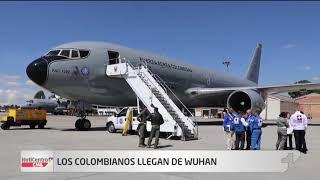 Avión que trae a colombianos despegó de Madrid