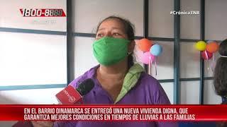 Managua: Entregan vivienda digna en el barrio Dinamarca – Nicaragua