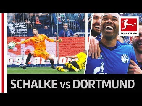 Schalke 04 vs. Borussia Dortmund - Naldo with a Stunning Free-Kick