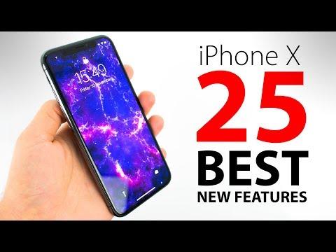 iPhone X - TOP 25 BEST Features!