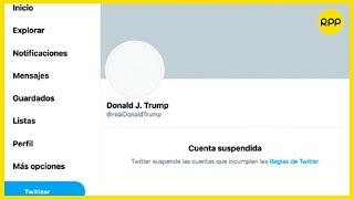 Donald Trump: Todas las redes sociales y plataformas de las que está vetado   Jueves Internacionales