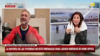 Home office en cuarentena: consejos para evitar el dolor de cervicales en Hoy Nos Toca
