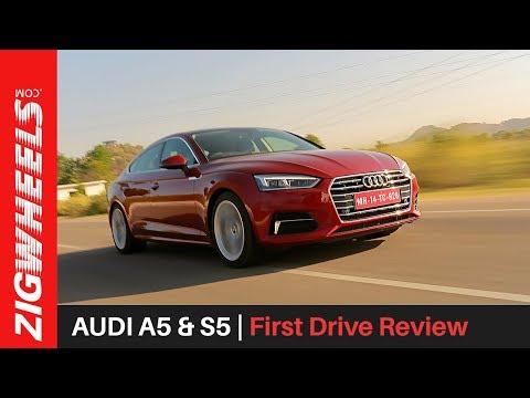 Audi A5 & S5 | First Drive Review | ZigWheels.com