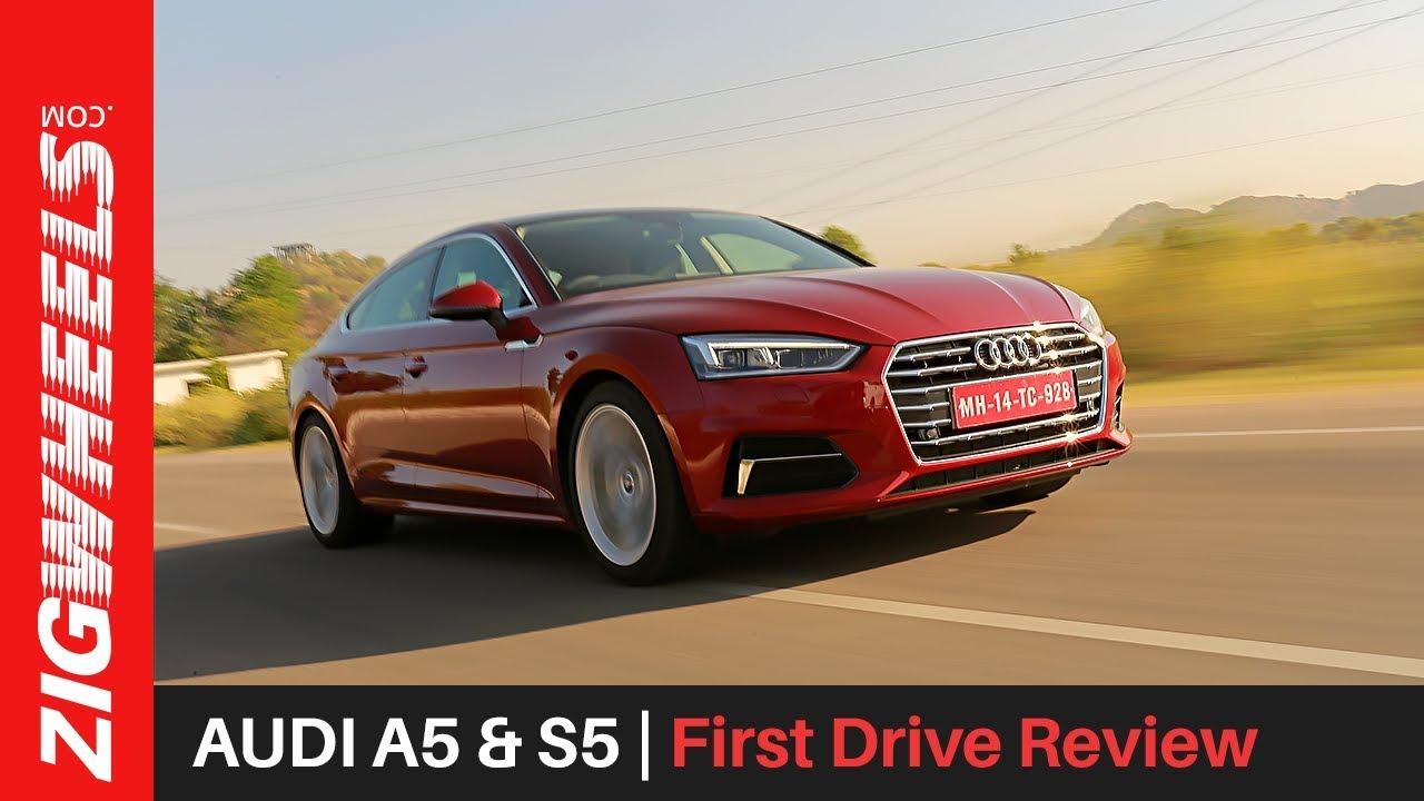 ऑडी ए5 एन्ड एस5 | पहला drive रिव्यू | zigwheels.com