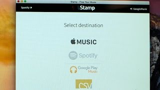 Transfer songs between streaming services