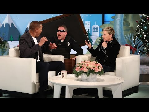 Ellen Scares Will Smith for the 'Gram