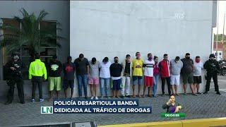 Desarticulan una banda dedicada al tráfico de drogas en Guayaquil