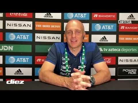 Fabián Coito no quiere crear falsas expectativas y hace sus valoraciones del empate 0-0 ante México