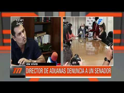 Director de Aduanas denuncia al senador Martín Arévalo