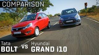 Hyundai Grand i10 vs Tata Bolt  :: Comparison Review :: Zigwheels