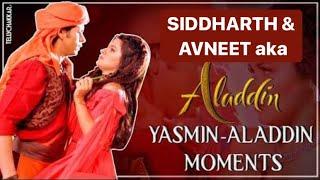 Revisiting best moments of Aladdin & Yasmin aka Siddharth and Avneet | Checkout Video | TellyChakkar - TELLYCHAKKAR