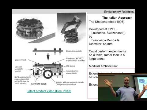 Evolutionary robotics Lecture 07: The first experiments. (Recorded Feb 6, 2018)