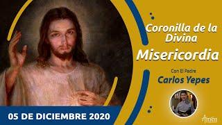Coronilla de la Divina Misericordia l Sábado 5 Diciembre l Ora a Jesús l Padre Carlos Yepes